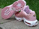 Кроссовки Nike Air Max Tn+ 1 Satin Pack Pink. Топ качество! Живое фото (Реплика ААА+), фото 5