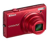 Фотоаппарат Nikon Coolpix S 6100 Red