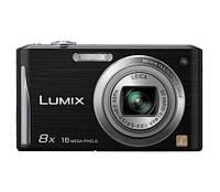 Фотоаппарат Panasonic Lumix DMC-FS35 (FH25) black (меню на английском языке)