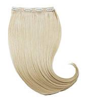 Волосы на заколках 50 см. Цвет #60 Холодный блонд