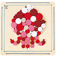 Детская мозаика для раскрашивания Hape Осьминог (E5114)