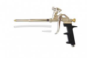 Пистолет для пены металлический с хромированным покрытием арт.12-071