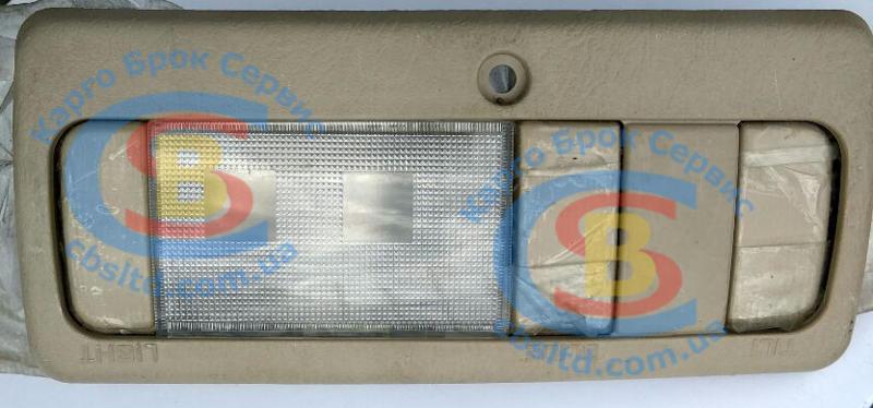 BYDF3-4104100B Плафон освещения салона BYD F3 (Оригинал) потолочный передний в сборе (бежевый), фото 1
