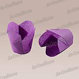 """Паперові формочки для кексів """"Фіалка"""", пурпурові (150 шт., d=35 мм, висота бортика=35/45 мм), фото 3"""