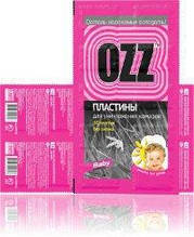 OZZ-Baby Пластины от комаров