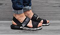 Мужские Сандалии Adidas Y-3 Yohji Yamamoto Black