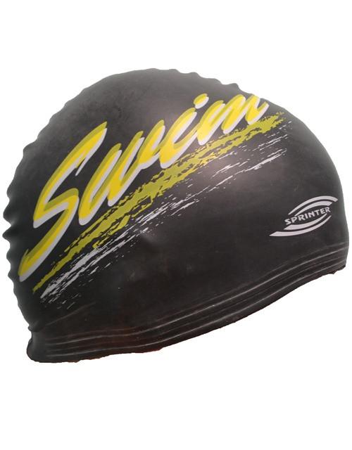 Шапочка для плавания (черная)
