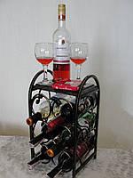 """Подставка для вина """"Love is"""", на 6 бут. (арт. MS-PVK- 052-6)"""