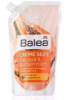 Balea Creme жидкое мыло Seife Papaya & Buttermilch (запаска) 500 ml