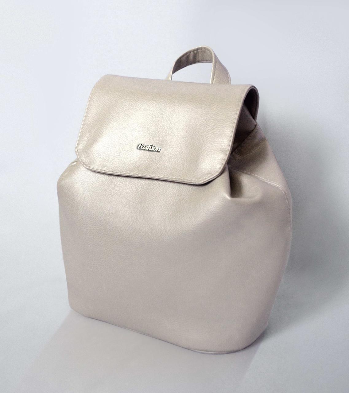 """Жіночий рюкзак """"Christina"""" 03 - Grey Pearl"""