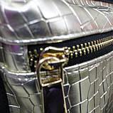 Рюкзак-сумка молодежный  ЧЕРНО - ЖЕМЧУЖНЫЙ-2, 31х26х12 см., фото 3