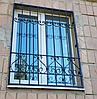 Решетка на окно с ковкой