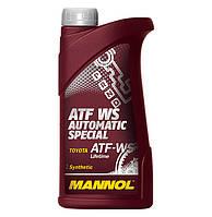 Масло для трансмиссий Mannol ATF WS Automatic Special 1л