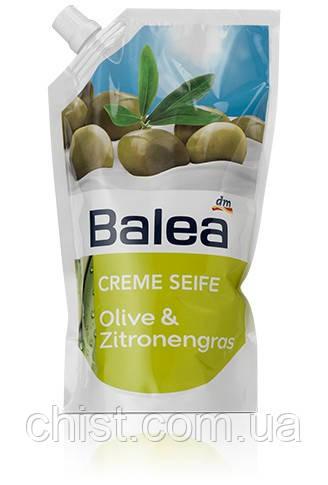 Balea Creme жидкое мыло Olive & Zitronengras Nachfüllpackung (запаска) 500 ml