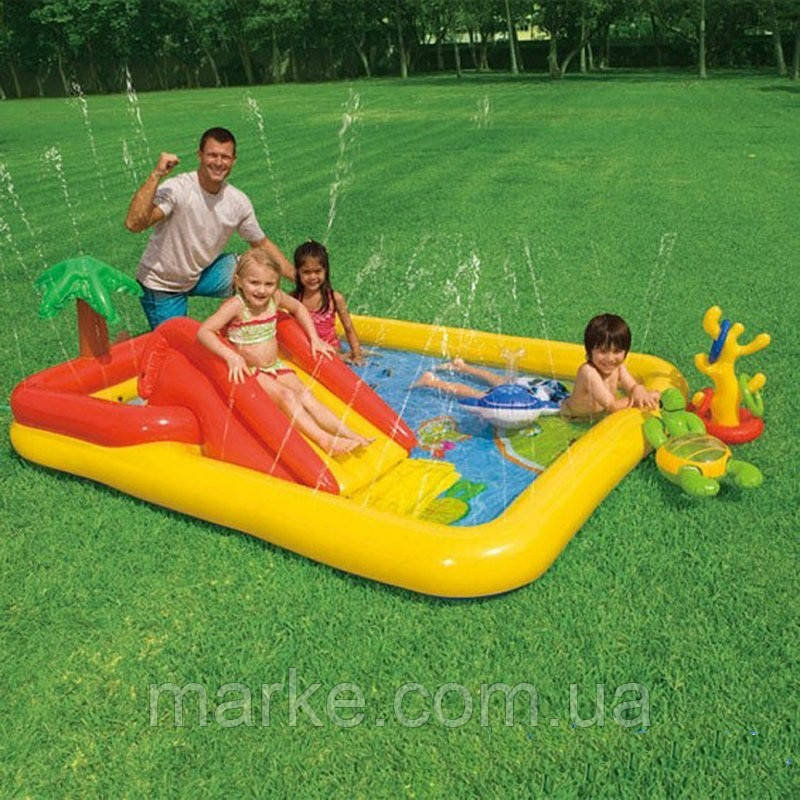 Водный игровой центр intex 57454  254*196*79 см
