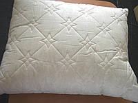 Подушка стёганая 50*60 , Бязь 100% ХБ, бежевая.