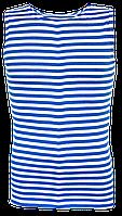 Майки  ВДВ десантные голубые  вязаные