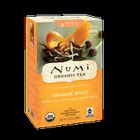"""NUMI Белый чай """" Пряный апельсин """" / Orange Spice, 16 пакетиков"""
