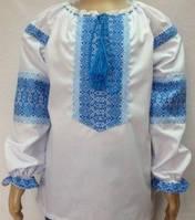 Тм Мальва Вышиванка для девочки с длинным рукавом