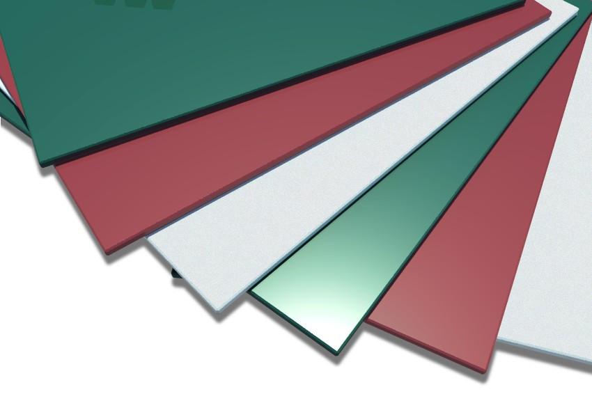 Лист оцинкованный с полимерным(цветным) покрытием