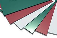Лист оцинкованный с полимерным(цветным) покрытием , фото 1