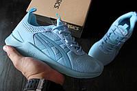 Женские кроссовки Asics / ТОП качество/ материал: сетка, подошва пенка / Вьетнам / размеры 36-41 / голубые