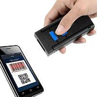 Портативный Bluetooth 2D/QR сканер MJ-2877 для Android IOS Windows, фото 1