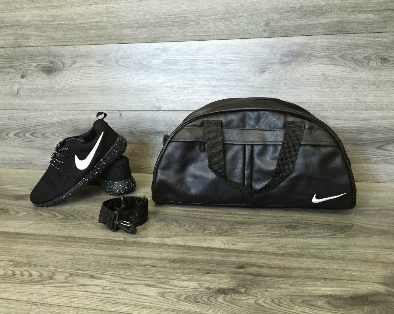 9c167d4b5c10 Спортивная сумка Nike (Найк), синий логотип - купить в Украине ...