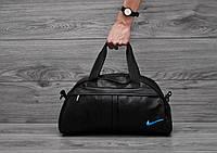 Спортивная сумка Nike (Найк), синий логотип, фото 1