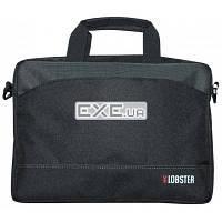 """Сумка для ноутбука 13-14"""" (сіро-чорна з карманом) LOBSTER LBS14T2BP (LBS14T2BP)"""