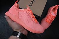 Женские кроссовки Asics / ТОП качество/ материал: сетка, подошва пенка / Вьетнам / размеры 36-41 / розовые
