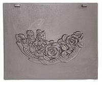Задняя стенка для печи с изображением роз