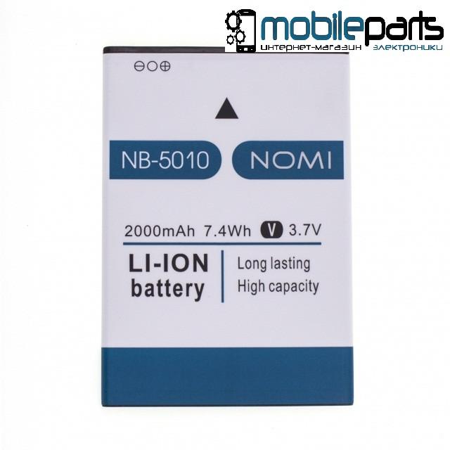 Оригинальный аккумулятор АКБ (Батарея) NOMI NB 5010 для Nomi i5010 EVO M (2000 mAh 3.7V)