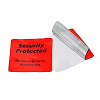 Этикетка РЧ 4*4см (рулон 1000шт) красного цвета, для охлажденных продуктов