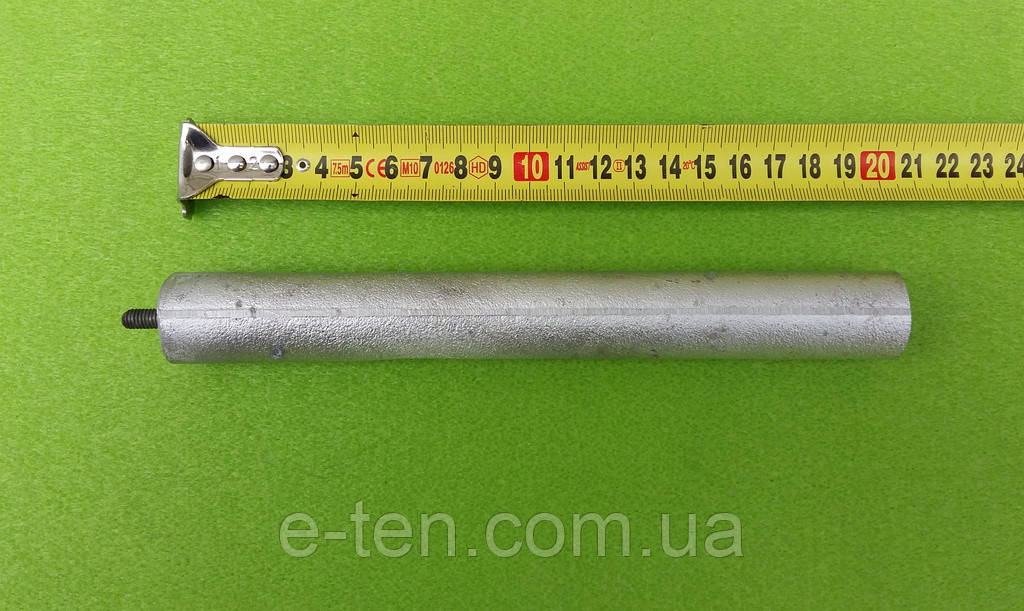 Анод магниевый Ø25мм*200мм / резьба М6*10мм     Украина, фото 1