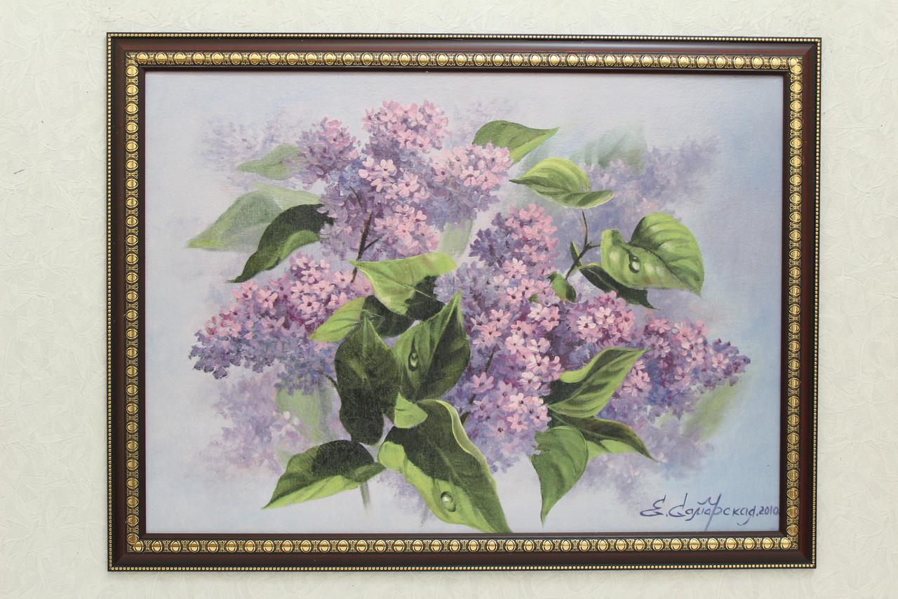 """Картина """"Цветы"""". Е.Самарская"""