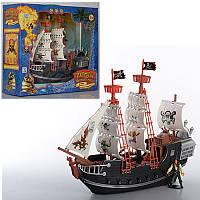 Корабль пиратов M 0516 U/R, 38см, фигурки 2шт, в кор-ке, 41-36-13см