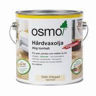 Бесцветное полуматовое Масло OSMO 3065 с твёрдым воском (2,5л)