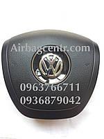 Крышка накладка заглушка подушки безопасности VOLKSWAGEN Touareg,черный,коричневый