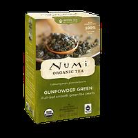 """NUMI Зеленый чай """" Ганпаудер Грин """" / Gunpowder Green, 18 пакетиков"""