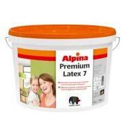 ALPINA Premiumlatex 7 B1/10л.Шелков.-матовая латексная краска