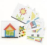 Набор для детского творчества Hape Мозаика из бисера (E6310)