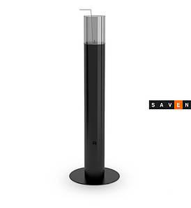 Биокамин столик (экокамин) HITZE Ignis черный