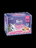 Консервы Brit Premium Cat Pouch для кошек, 12 х 85 гр