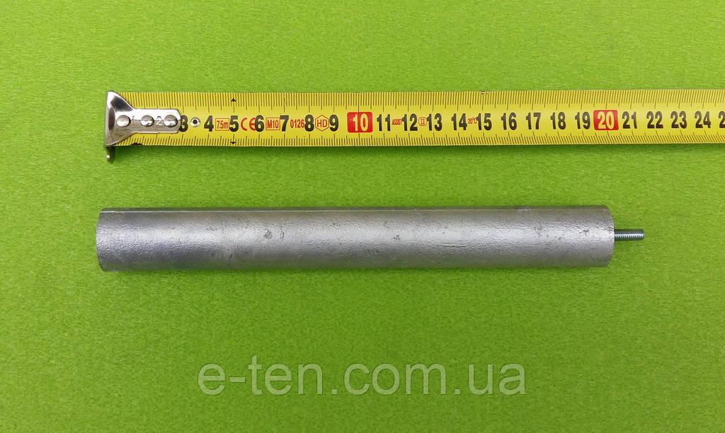 Анод магниевый Ø25мм*200мм / резьба М5*10мм     Украина