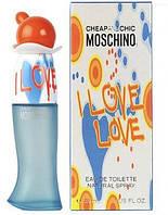Женская парфюмированная вода Moschino I Love Love