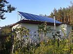 Автономная гибридная солнечная электростанция 4 кВт