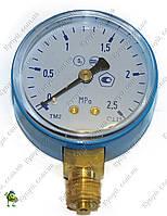 Манометр кислородный 2,5 мПа