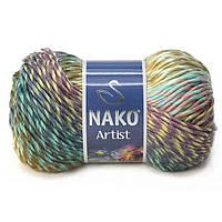 Турецкая пряжа для вязания Nako Artist. Переходная