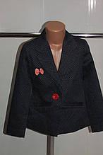 Пиджак на девочку 128/158 рост Польша синий .